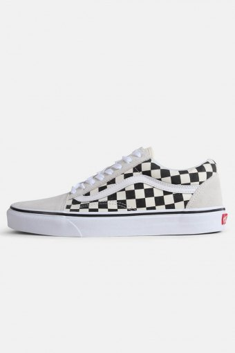 Old Skool Checkerbord Sneakers White Black