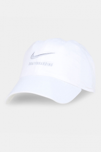 SB H86 Twill Cap White/Grey