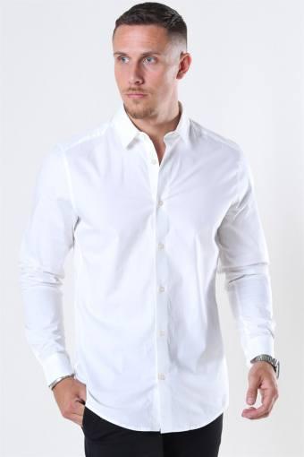 Bart Life LS Organic Skjorte Noos White