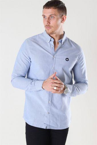 Johan Oxford Skjorte Light Blue