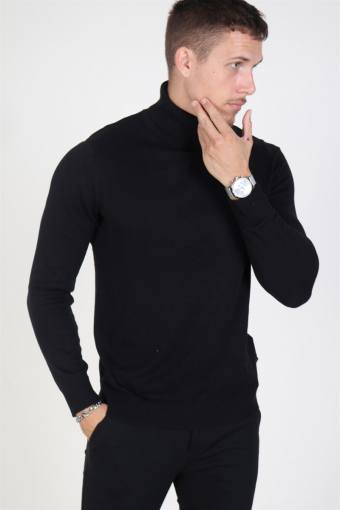 Jack & Jones Emil Rullekrave Strik Black