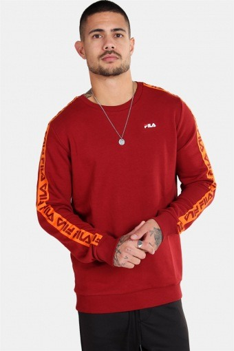 MEN Aren Crew Sweat Merlot