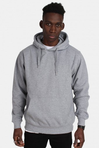 Hooded Sweat Oxford Grey