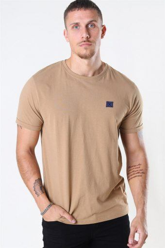 Basic Organic T-shirt Warm Sand