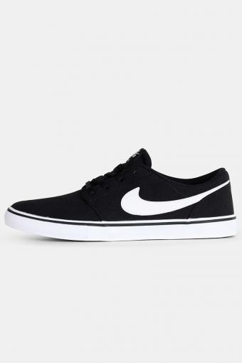 SB Portmore II Solar Sneakers Black/White