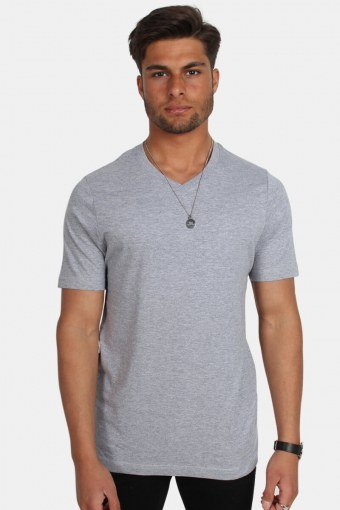 Uni Fashion V T-shirt Oxford Grey