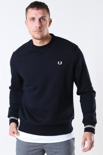 Crew Neck Sweatshirt Black