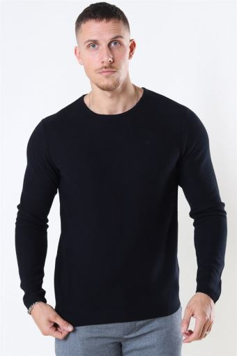 Lauritz Recycled Crew Strik Black