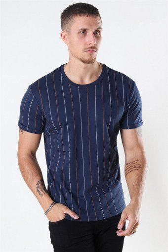 Louis Organic T-shirt Navy