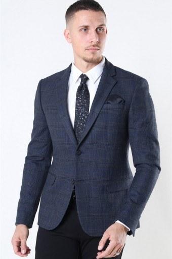 Tailored & Originals Ragn Blazer Dark Grey Melange