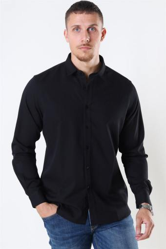 Clean Cut Maxime Skjorte L/S Black