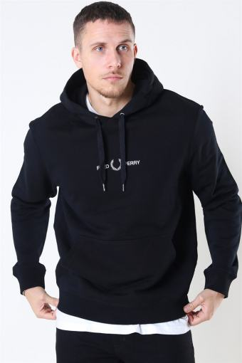 Graphic Hooded Sweatshirt 102 Black