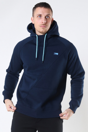 Jack & Jones Ponn Sweat Hoodie Navy Blazer