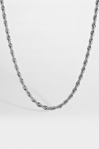 Rope Halskæde Sølv