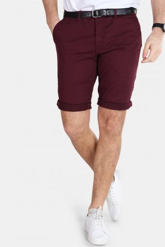 Jonas Stretch Dark Bordeaux