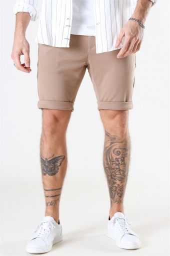 Jason Chino Jersey Shorts Light Sand