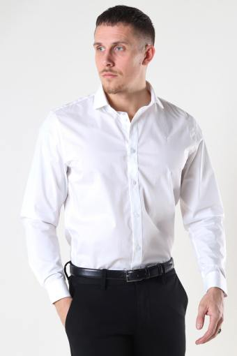 Copenhagen London Stretch Nano Shirt L/S White