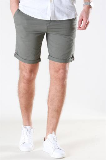 Bowie Shorts Solid Dusty Olive
