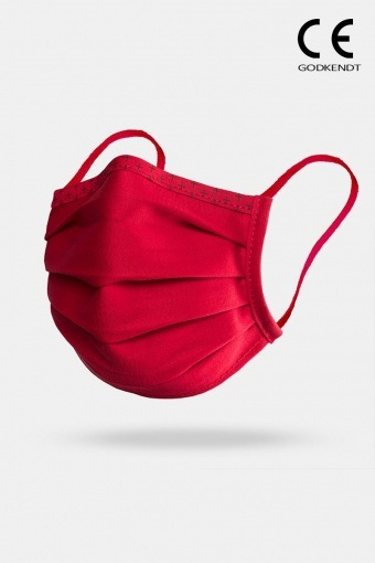 Supreme Line Face Cover Red