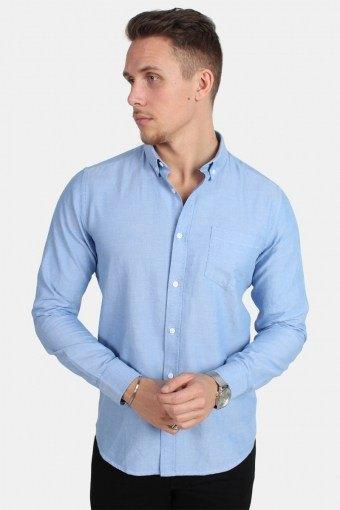 Alvaro LS Skjorte Cashmere Blue