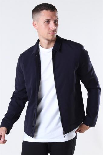 Tailored & Originals Frederic Zip Jakke Insignia Blue