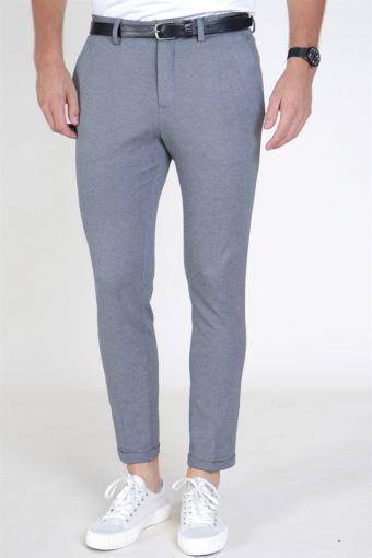 Skinny Jersey Pants Grey Melange