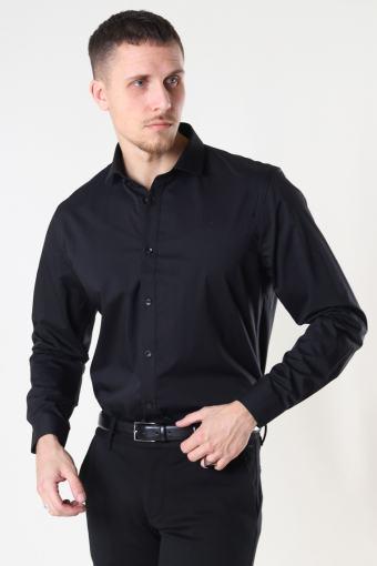 Copenhagen London Stretch Nano Shirt L/S Black