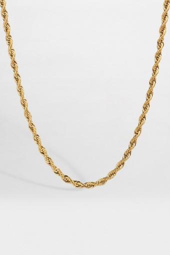 Rope Halskæde Guld