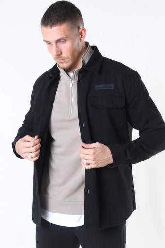 Hoxen Work Overshirt Black