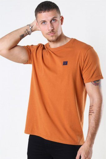 Basic Organic T-shirt Dusty Orange