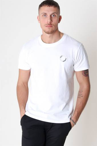 Antonie Logo S/S T-shirt White