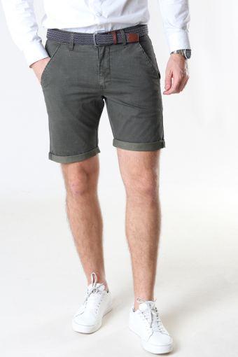 Louis Army Shorts inkl. bælte