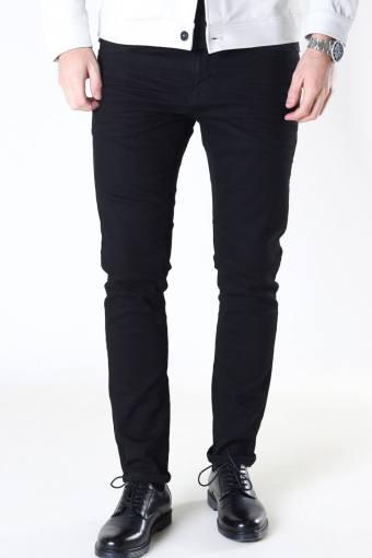 David Slim Stretch Jeans Black Denim