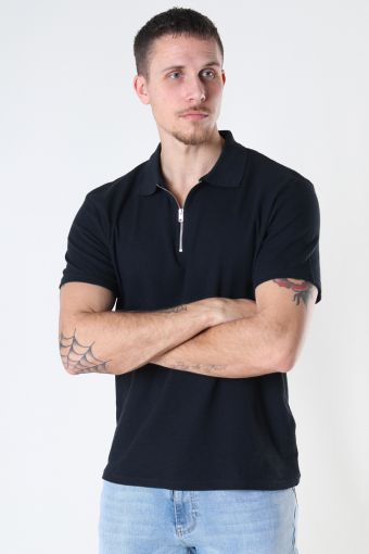 Jack & Jones JORERIC POLO SS BLK Tap Shoe REG