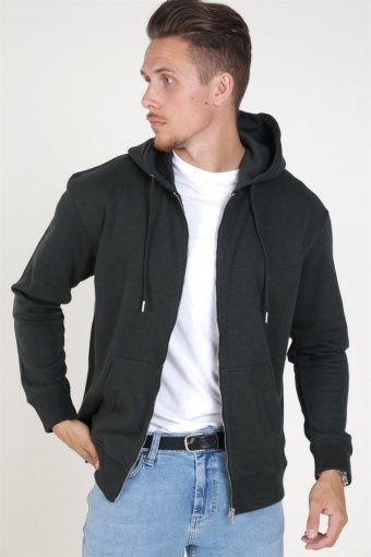 Jack & Jones Soft Sweat Zip Hood Rosin