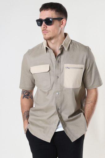 Luck s/s Shirt 113 - Sand