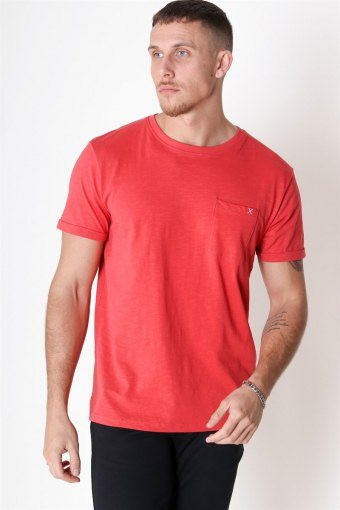 Clean Cut Kolding T-shirt Tomato