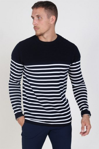 Link Stripe Strik Navy/Off White