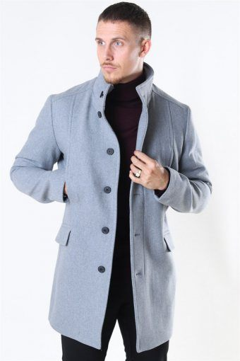 Morrison Uldfrakke B Noos Grey Melange
