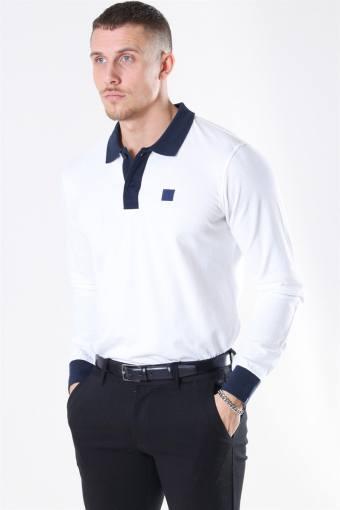 Rivierre LS Polo White/Navy