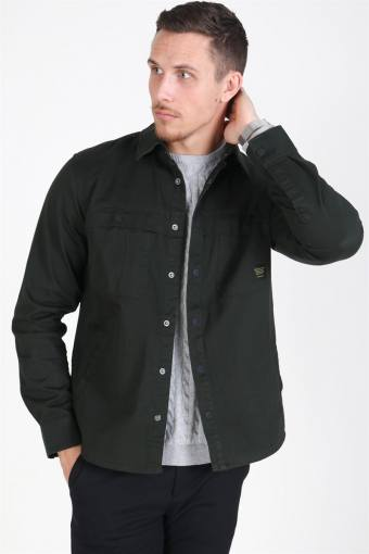 Gavin Twill Workwear Overshirt Rosin