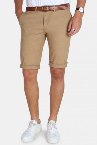 Jonas Stretch Shorts Khaki