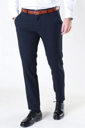 Mark Pants Check Dress Blue