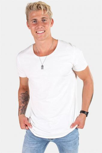 Jack & Jones Bas T-shirt SS U-neck Noos Cloud Dancer