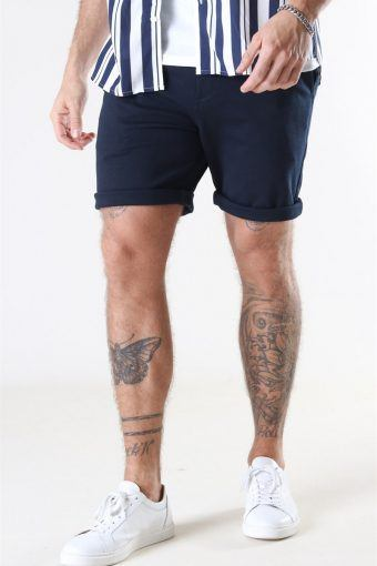 Clean Cut Milano Jersey Shorts Navy