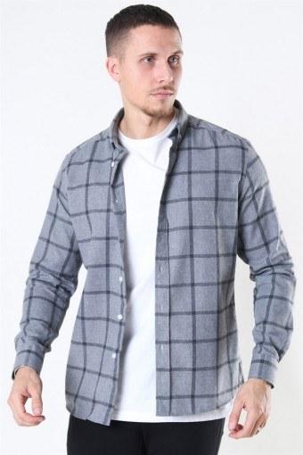 Clean Cut Sälen Flannel 1 Skjorte Grey