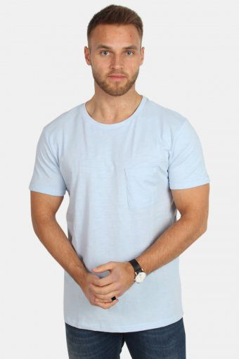 Clean Cut Kolding Tee S/S Light Blue