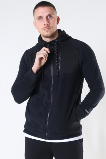 Pratik Hooded Sweat Black