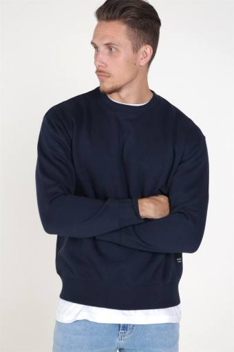 Jack & Jones Soft Sweat Crew Neck Navy Blazer