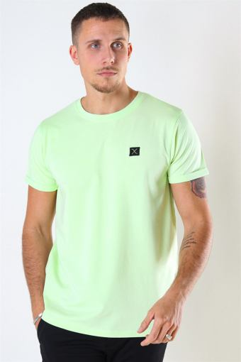 Basic Organic T-shirt Neon Green